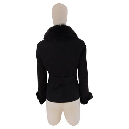 Loro Piana zwarte jas