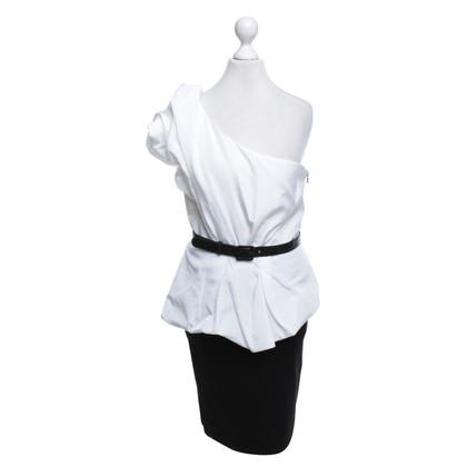 Alice + Olivia Dress in black / white