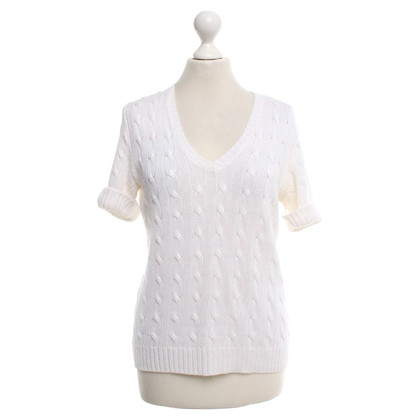 Ralph Lauren Short-sleeved pullover in cream