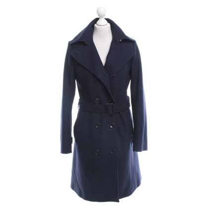 Bruuns Bazaar Trench Dark Blue