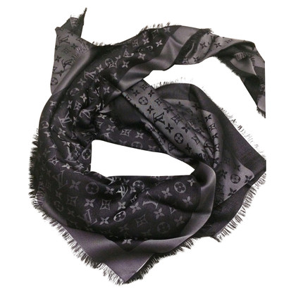 Louis Vuitton Shawl Louis Vuitton Black L
