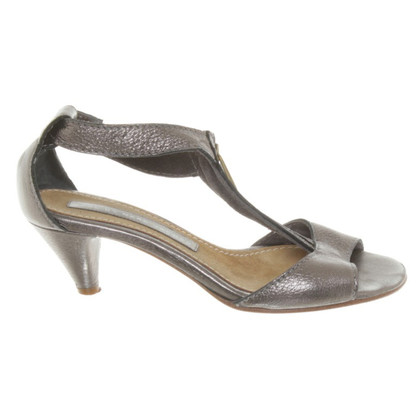 Marc by Marc Jacobs Sandals in silver