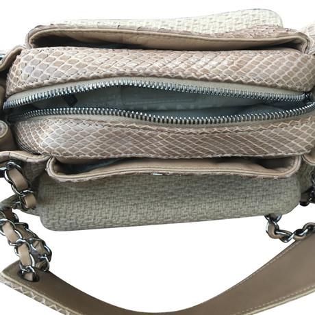 Chanel Handtasche Beige Geniue Händler Zum Verkauf Online-Shopping-Outlet Verkauf Günstig Kaufen Low-Cost 18XJMY1k54