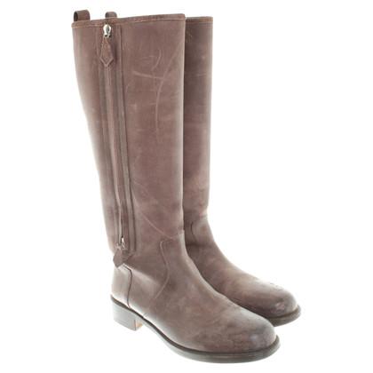 Hermès Stiefel aus Leder
