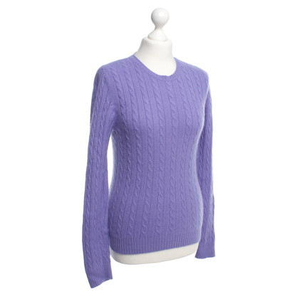 Ralph Lauren Cashmere sweater with cable pattern