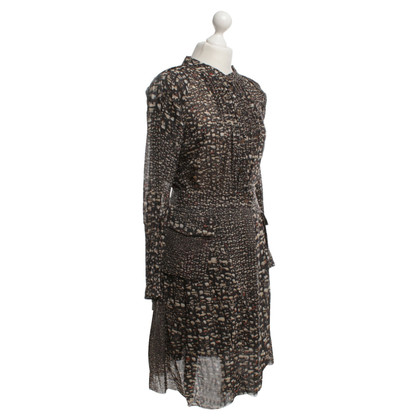 Wunderkind Dress with abstract pattern