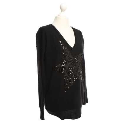 Bloom Knit sweater with sequins
