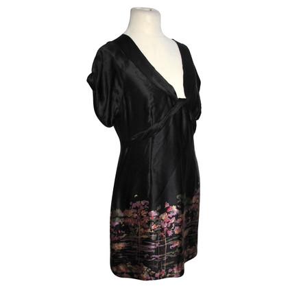 Ted Baker Black silk dress
