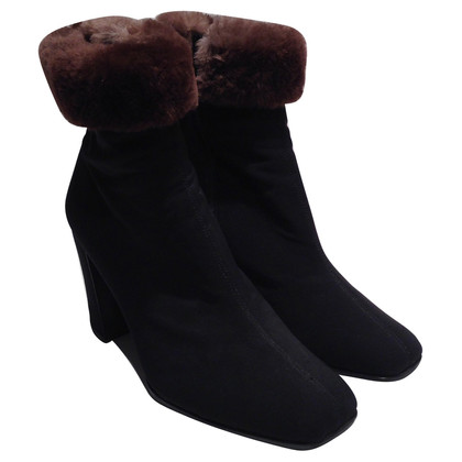 Prada Ankle boot with fur