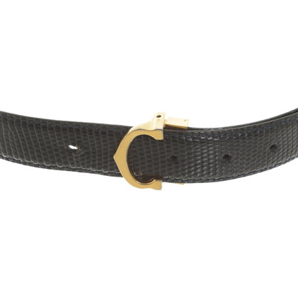 Cartier Belt made of reptile leather