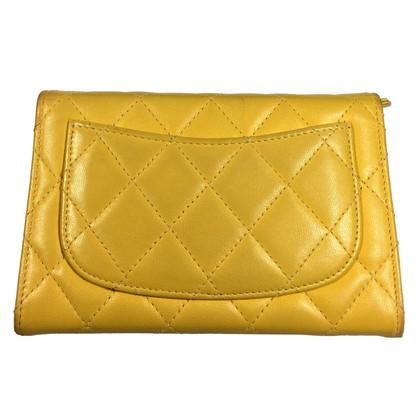 Chanel Gele portemonnee
