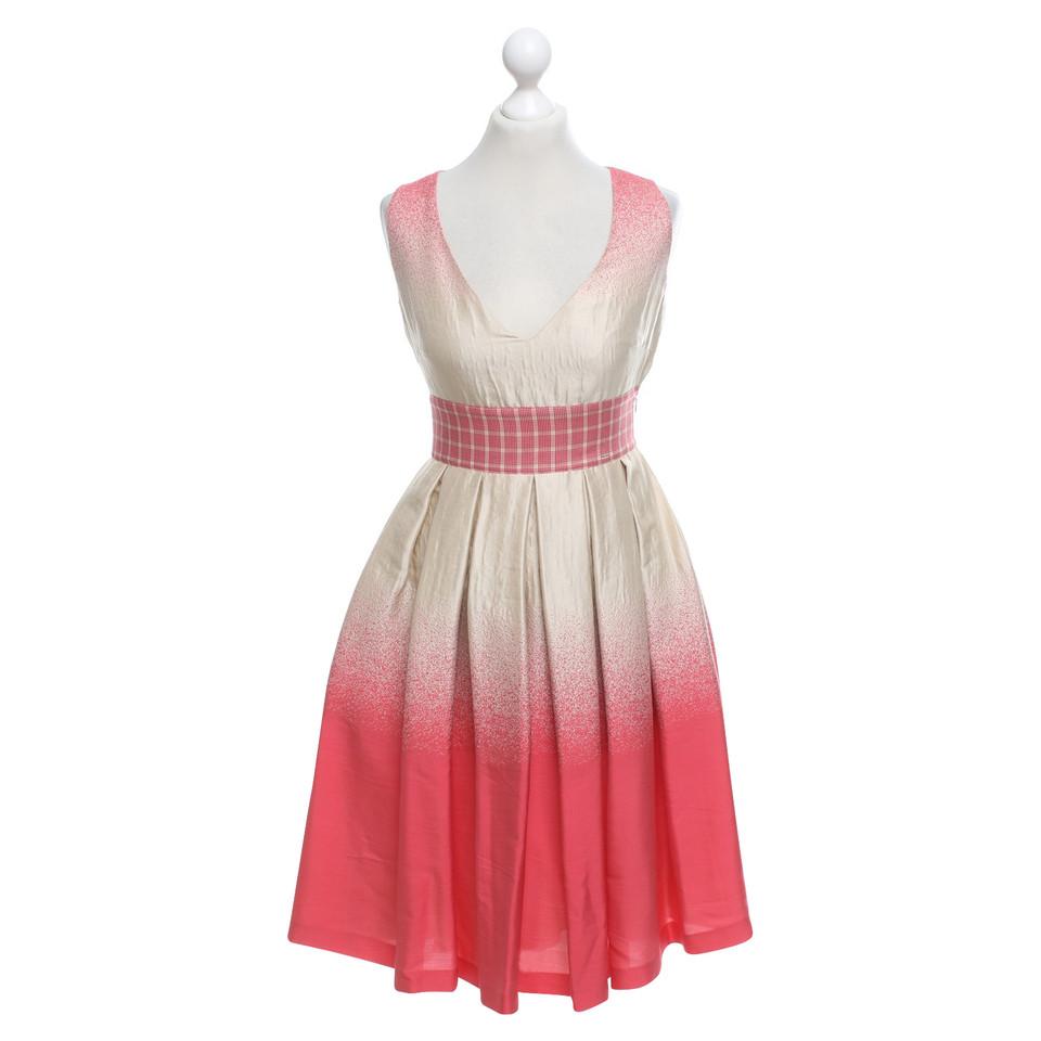 Prada Dress in beige / red