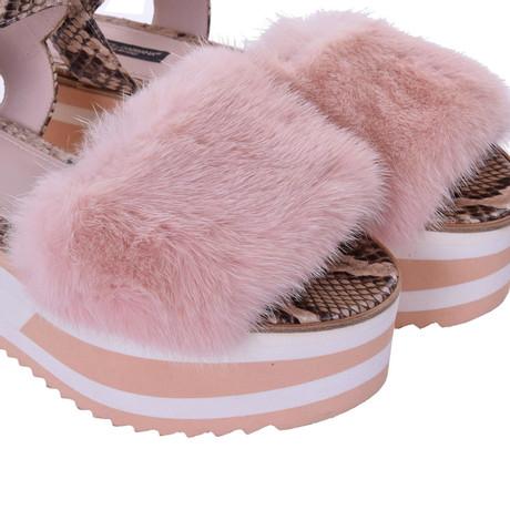 Dolce Rosa amp; Gabbana amp; Pink Dolce Sandaletten Plateau dWPqvYavn