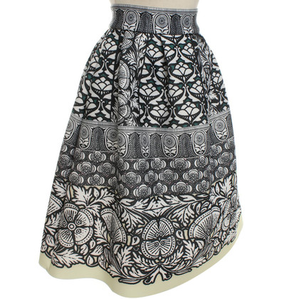 Maje skirt with graphic print