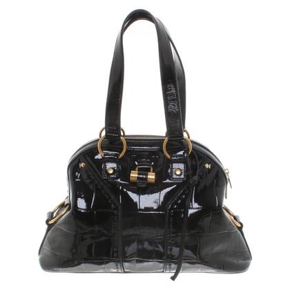 """Yves Saint Laurent """"Muse Bag"""" en noir"""