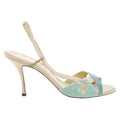 Christian Lacroix High heel sandal in beige