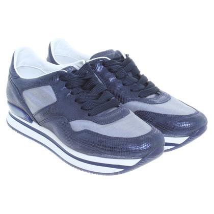 Hogan Sneakers in blu