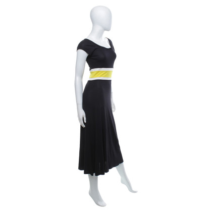 Escada Lange jurk in zwart