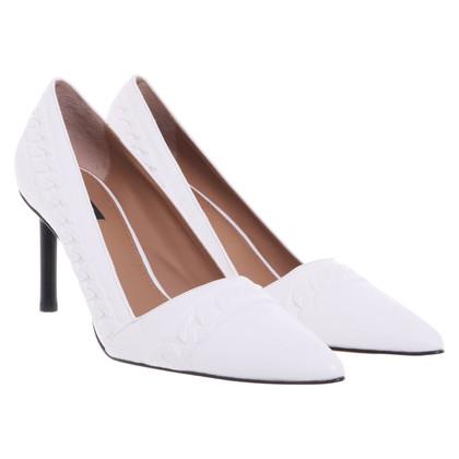 Rachel Zoe pumps in white