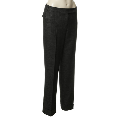 René Lezard Pants in material grey