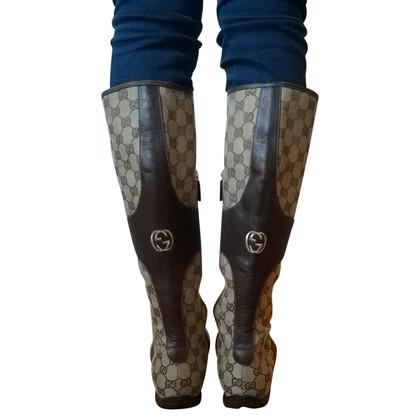Gucci Laarzen met patroon