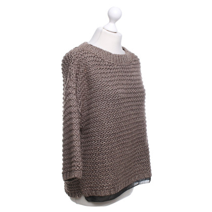 Steffen Schraut Gold-colored knit sweater