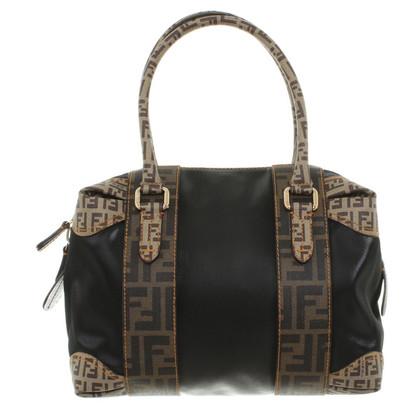 Fendi Handtasche mit Muster