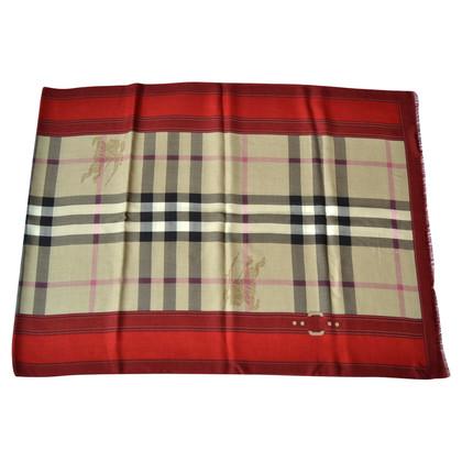 Burberry XXL doek met cashmere