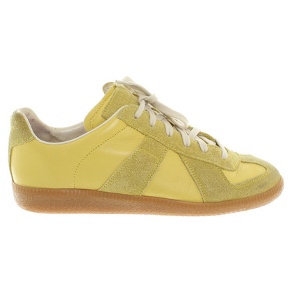Maison Martin Margiela Sneakers yellow leather