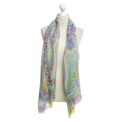 Etro Scarf with colorful pattern