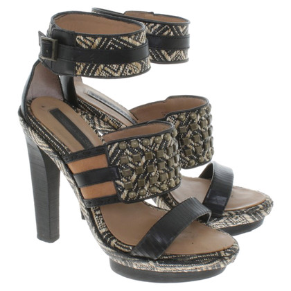BCBG Max Azria Sandals in black