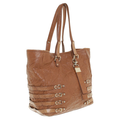 Jimmy Choo Leatherershopper in brown