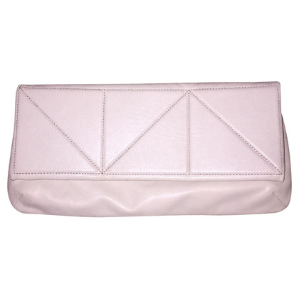 Coccinelle clutch in cream