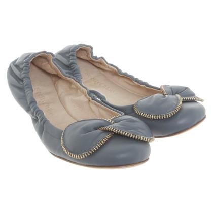 See by Chloé Ballerine in blu grigio