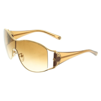 Louis Vuitton Sunglasses in gold colors