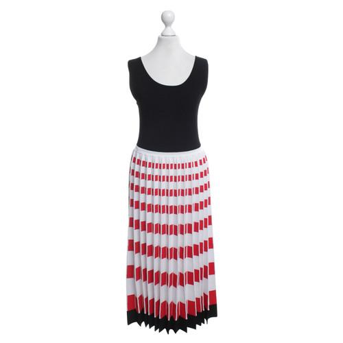 pretty nice 18f70 6694d Fendi Kleid in Schwarz/Weiß/Rot - Second Hand Fendi Kleid in ...