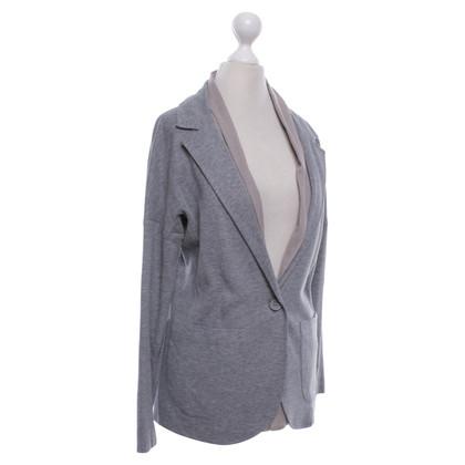 Fabiana Filippi Jersey blazer in grey