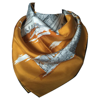 Burberry silk scarf