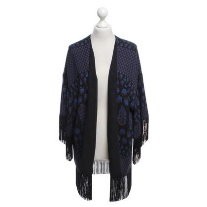 Steffen Schraut Kimono con stampa floreale