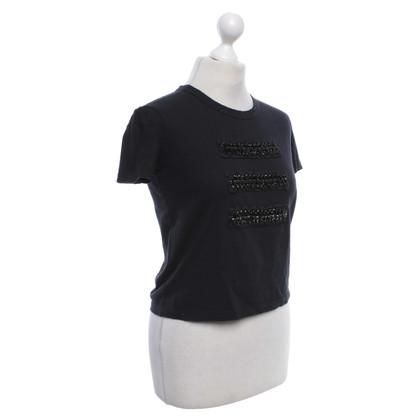 Prada T-shirt in black
