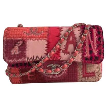 "Chanel ""Classic Flap Bag Medium"" da Patchwork Tweed"