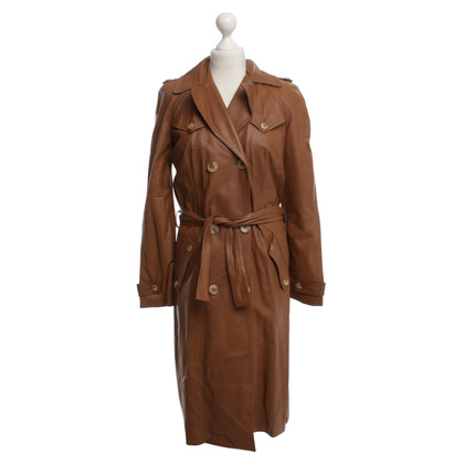 John Galliano Trenchcoat leer