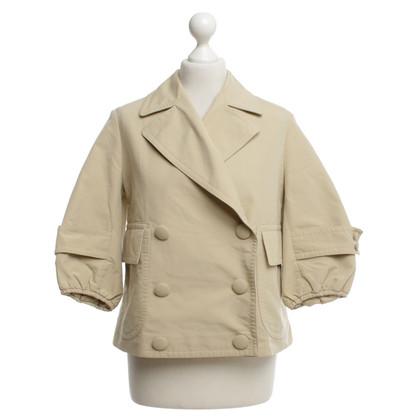 Yves Saint Laurent Kort jasje in beige
