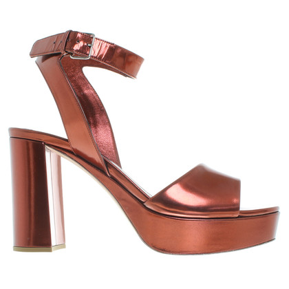 Miu Miu Copper plateau sandals