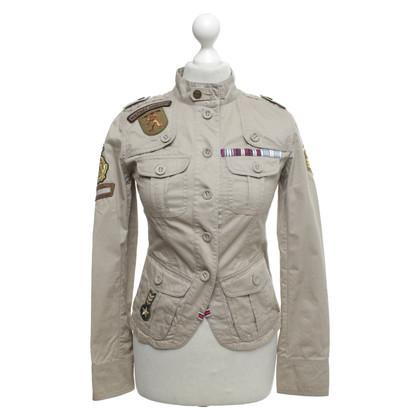 Karen Millen Jas in militaire stijl