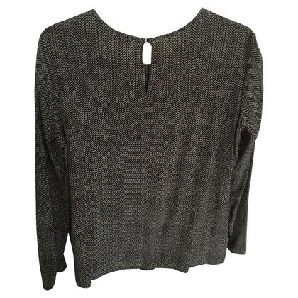 Max Mara Silk blouse with pattern