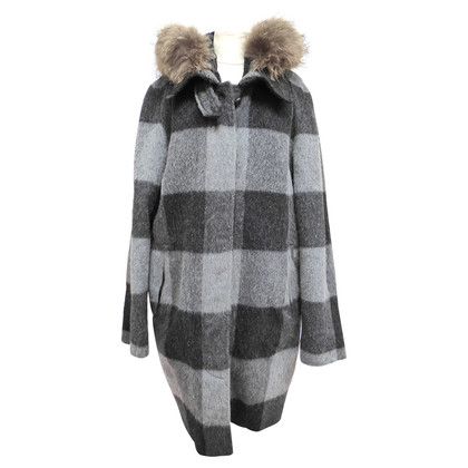 Woolrich Wool coat with feather lining