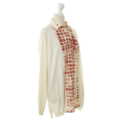 Wunderkind Cardigan with blouses usage