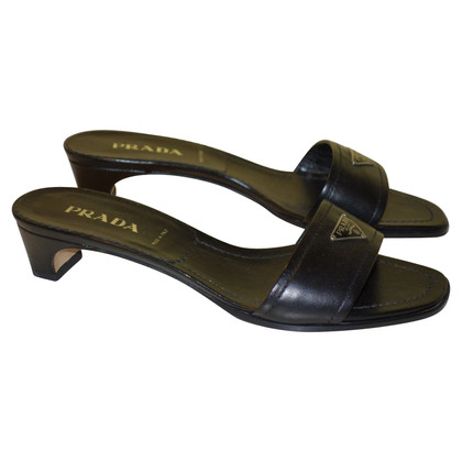 Prada Sandals with logo details