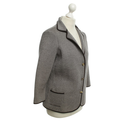 Loro Piana Blazer knitted silk